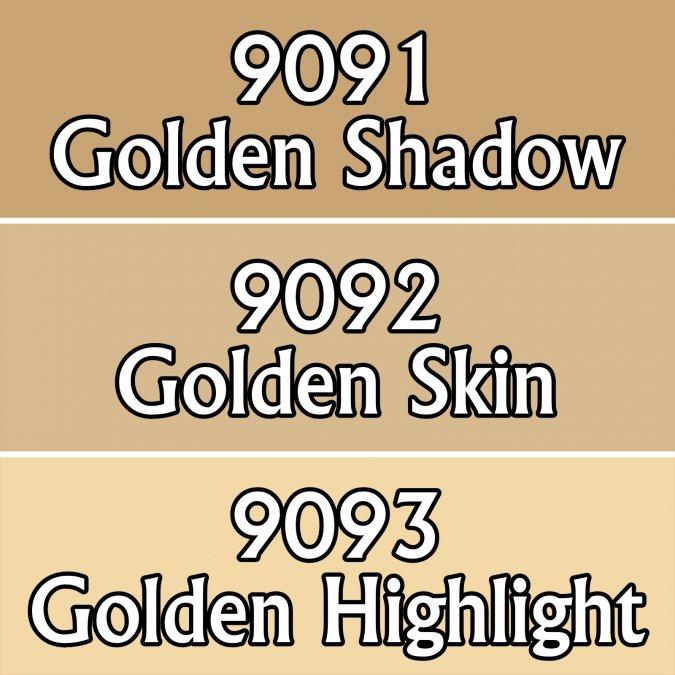 Golden Skintones