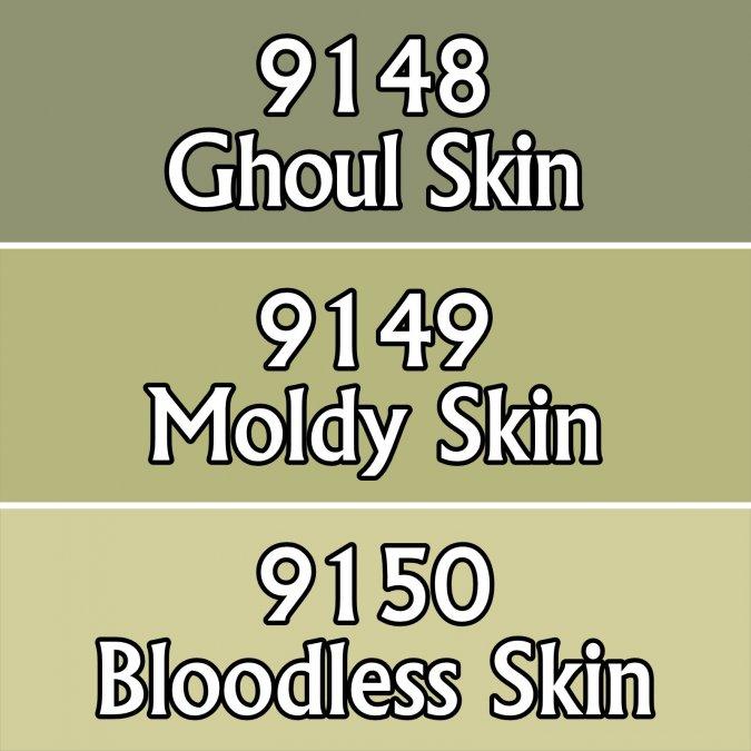 Undead Skin Tones