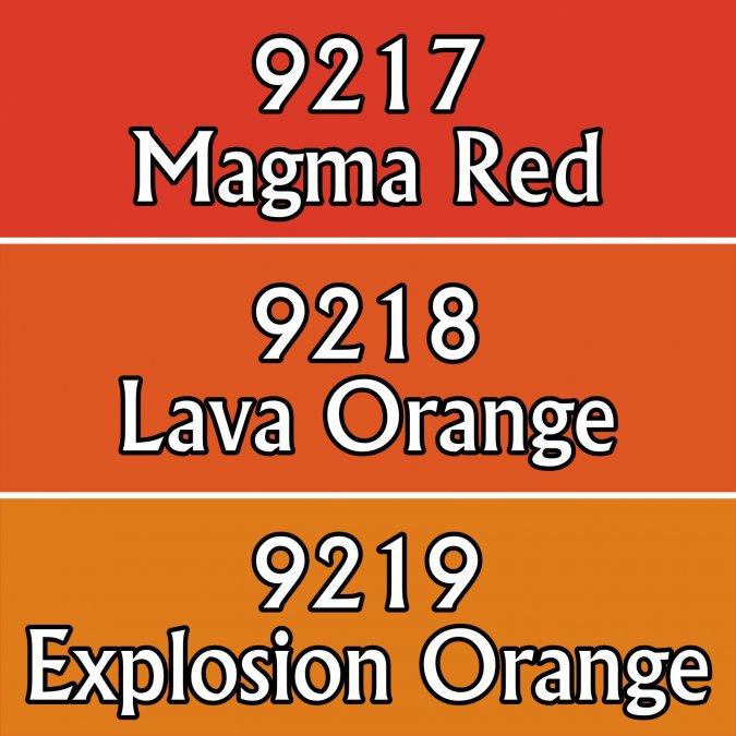 Lava Colors