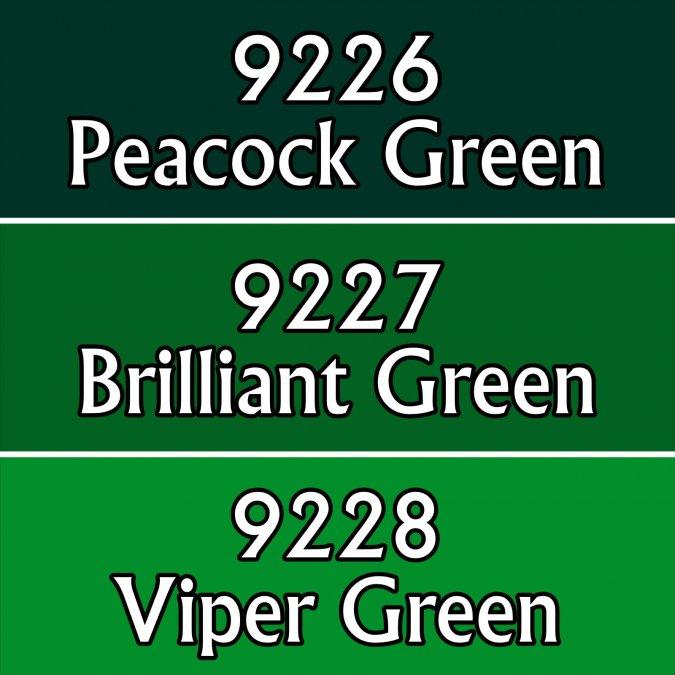 Brilliant Greens