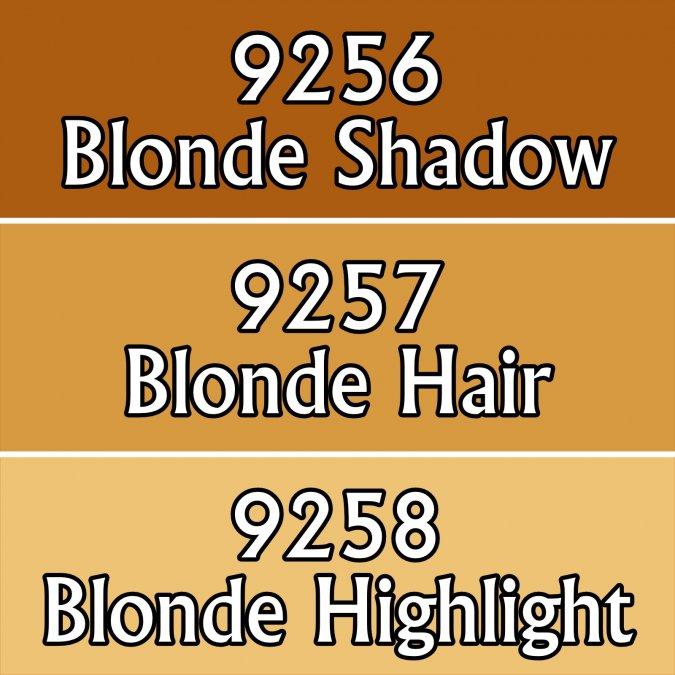Blonde Hair Triad