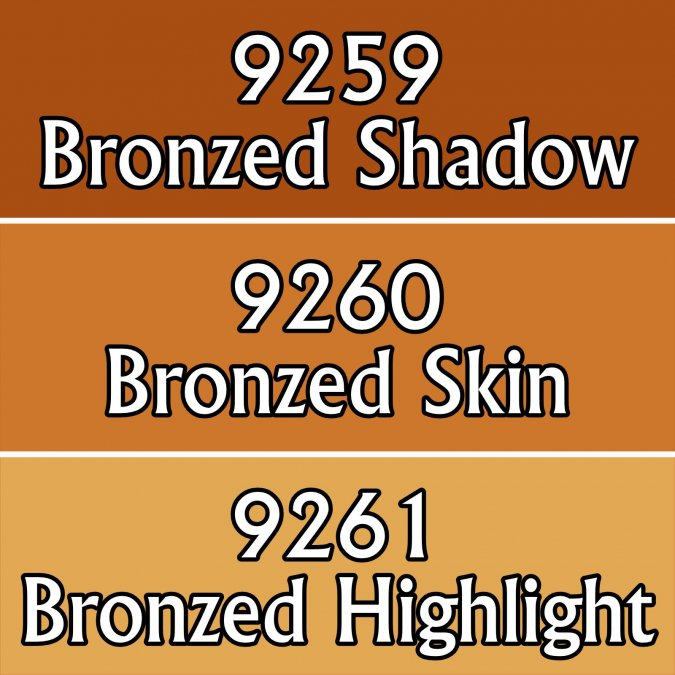 Bronzed Skin Triad