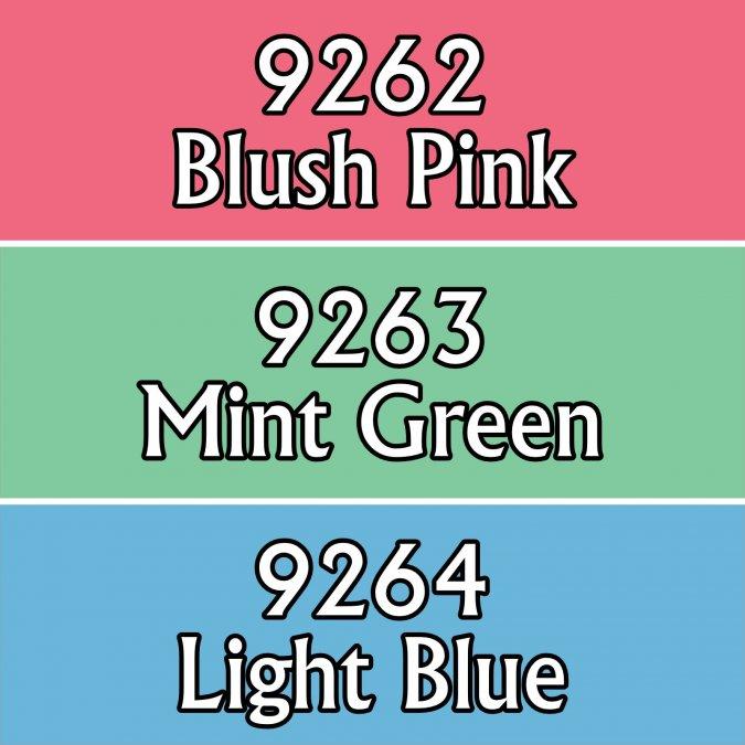 Pastel Colors Triad
