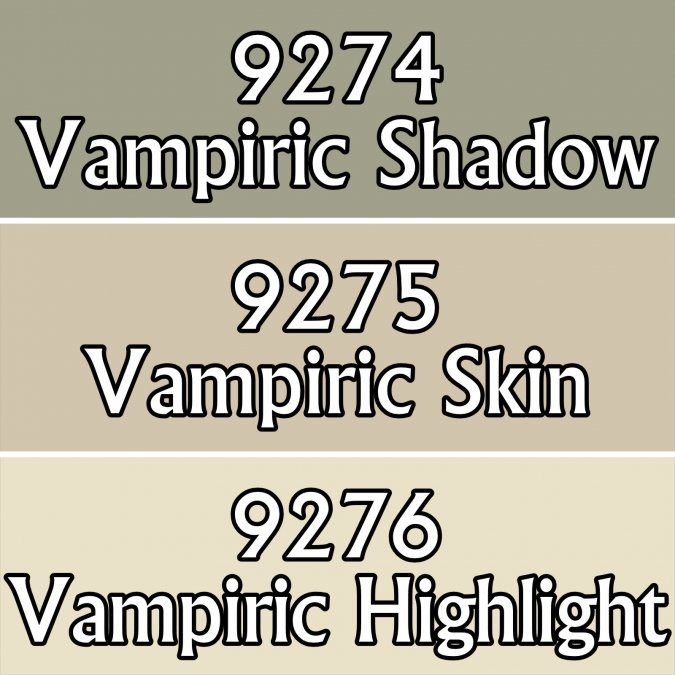 Vampiric Skintones Colors