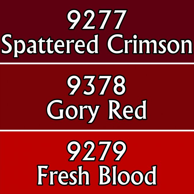 Gory Reds Colors