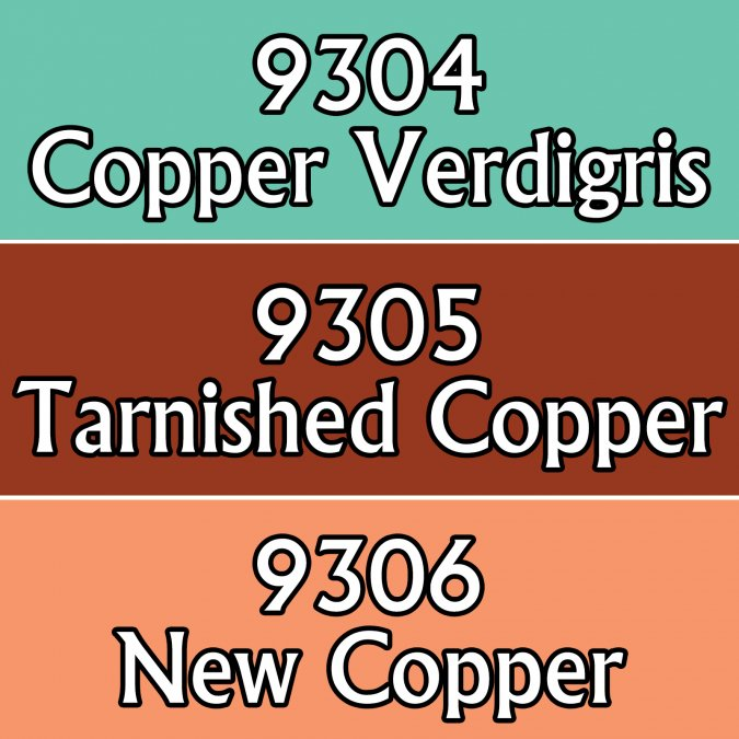 MSP Core Colors Triad: NMM Copper Colors (09304-09306)