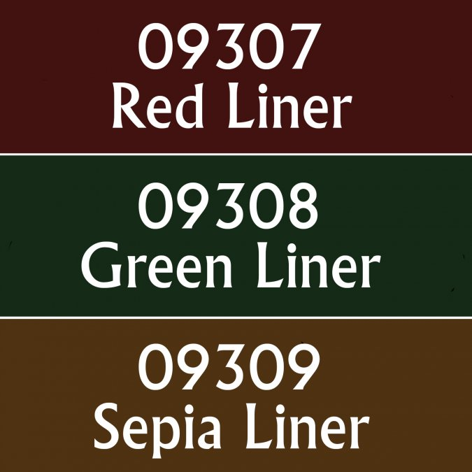 MSP Core Colors Triad: Liners II (09307-09309)