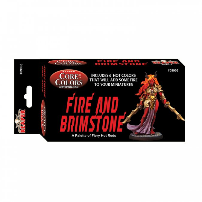 Reaper Fast Palette: Fire and Brimstone: Fiery Reds