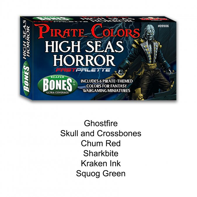 Reaper Fast Palette: High Seas Horror
