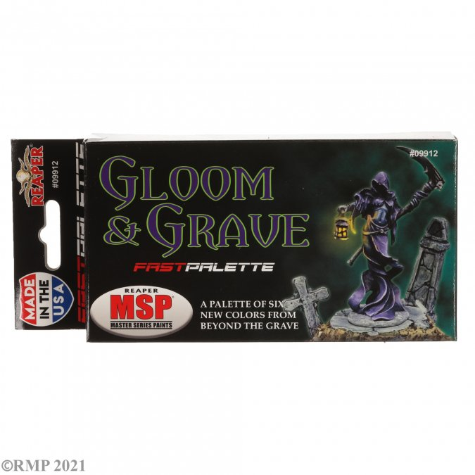 Reaper Fast Palette: Gloom and Grave Colors