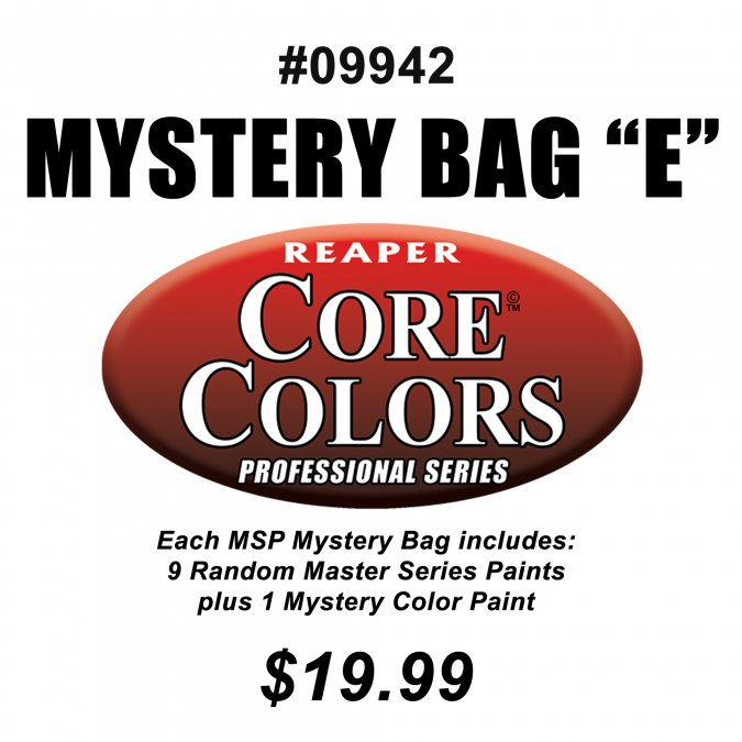 Reaper MSP Paint Mystery Bag E