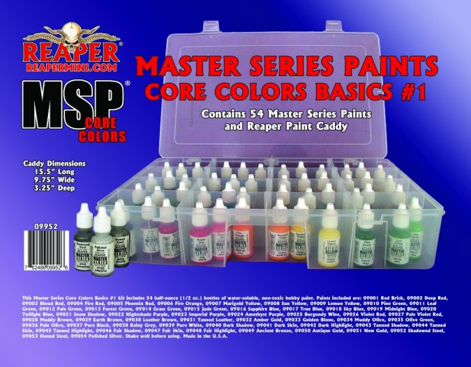 Master Series Paints Core Colors Basics #1