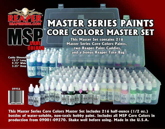 Master Series Paint Core Colors Master Set (09001-09270)
