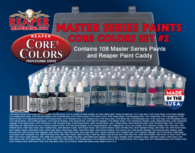 Master Series Core Colors Set #2