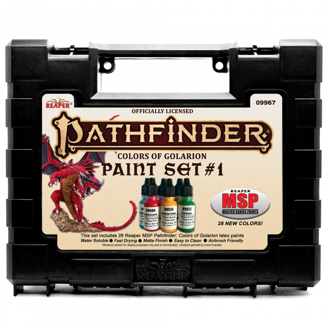 Master Series Paints: Pathfinder Colors of Golarion - Paint Set #1