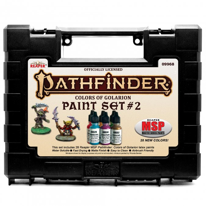 Master Series Paints: Pathfinder Colors of Golarion - Paint Set #2