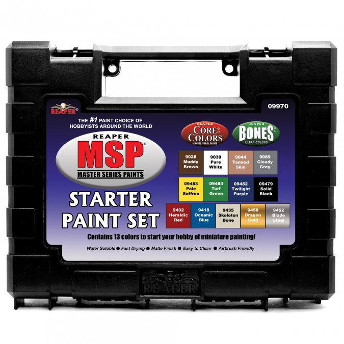 Master Series Paints Starter Set