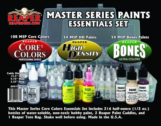 Master Series Paints Essentials Set