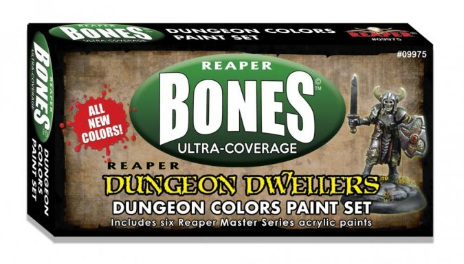 MSP Bones: Dungeon Colors Set
