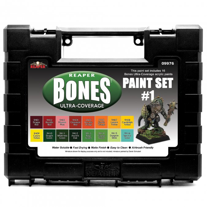 MSP Bones Ultra-Coverage Paints: Set #1