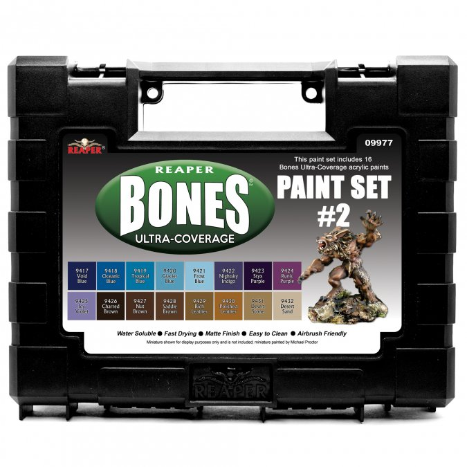MSP Bones Ultra-Coverage Paints: Set #2