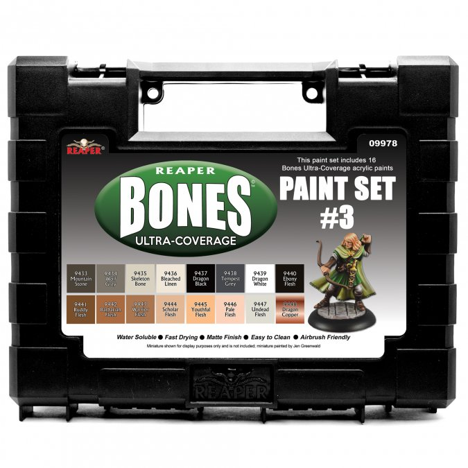MSP Bones Ultra-Coverage Paints: Set #3