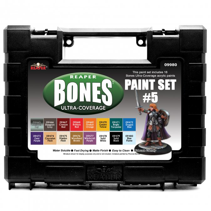 MSP Bones Ultra-Coverage Paints: Set #5