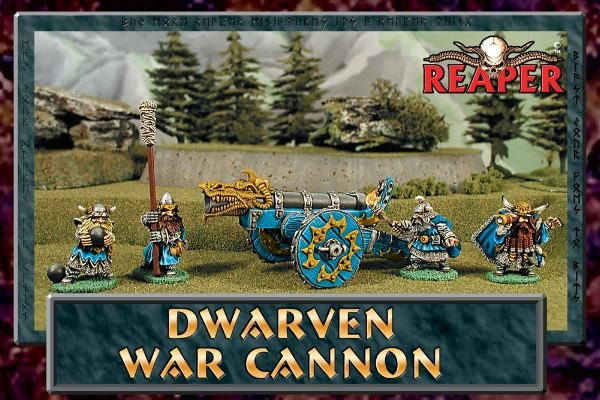 Dwarven War Cannon