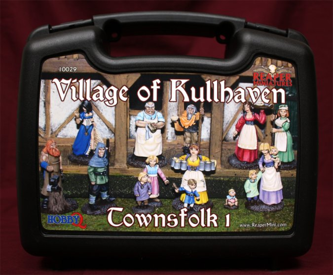 The Village of Kullhaven: Townsfolk I