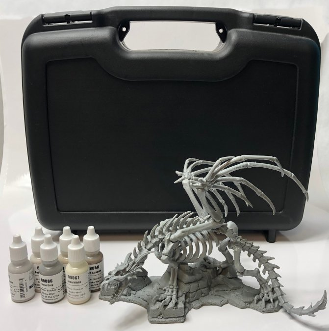 Skeletal Dragon Hard Case Bundle