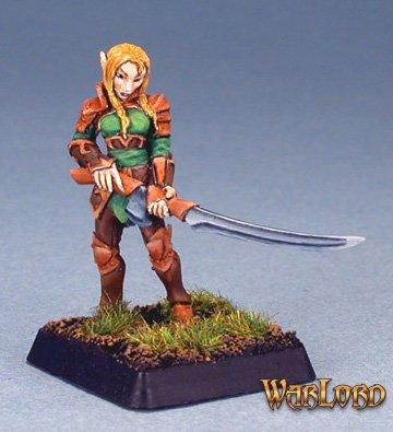 Flara, Vale Swordsman, Elf Grunt