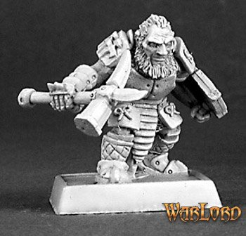 Dark Dwarf Warrior, Mercenaries Adept
