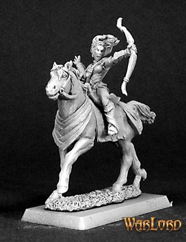 Volendria, Mounted Female Archer