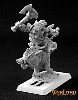 Durthen, Dwarven Berserker on Boar