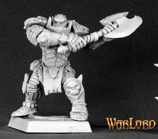Varaug, Orc Warlord (Alternate Sculpt)