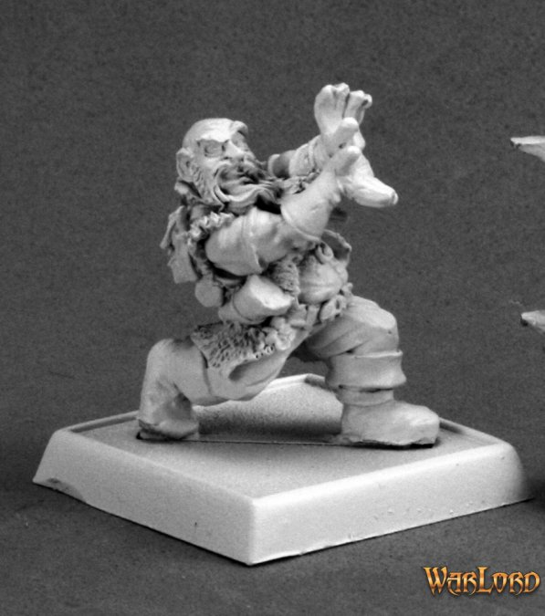 Gilok Onyxfist, Dwarf Wizard