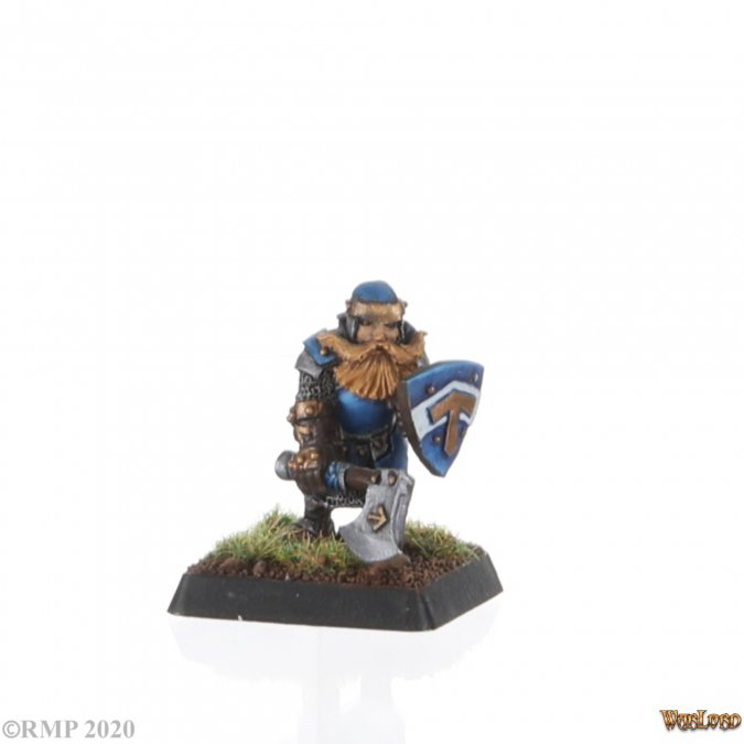 Kolbar, Dwarf Warrior