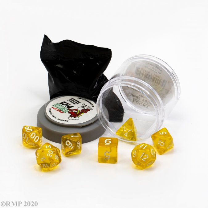 Lucky Dice - Clear Yellow