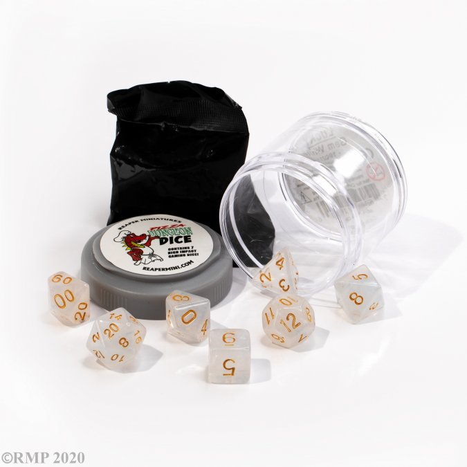 Lucky Dice - Gem White