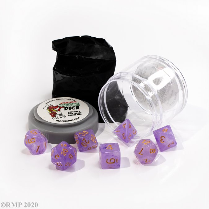 Lucky Dice - Gem Purple