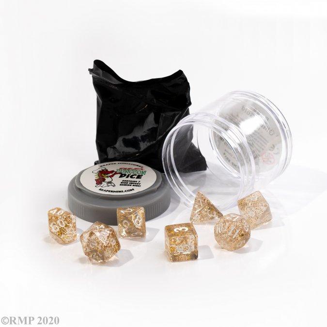 Boss Dice - Glitter Gold