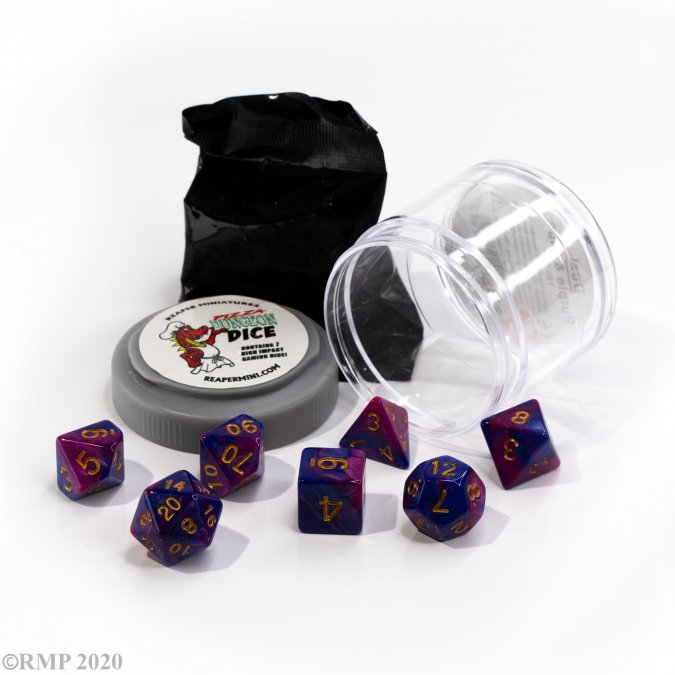 Dual Dice - Purple & Blue