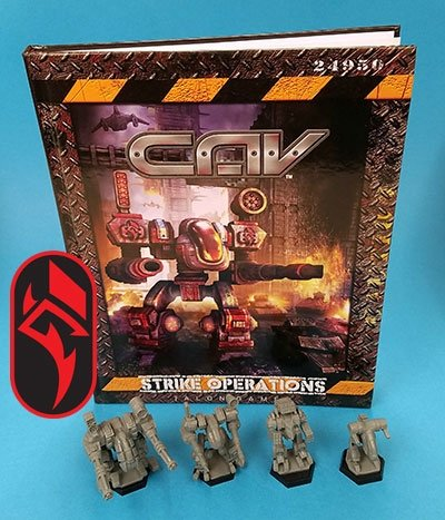 CAV: Strike Operations Hardcover Rulebook, Rach Bundle