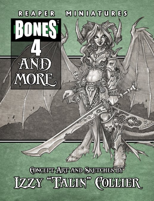 """Bones 4 and More: Concept Art and Sketches by Izzy """"Talin"""" Collier"""