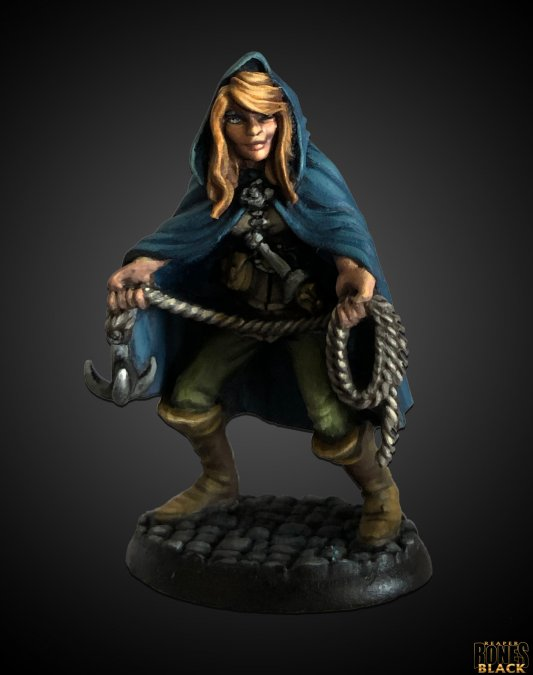 Bones Black: Daschelle, Female Rogue