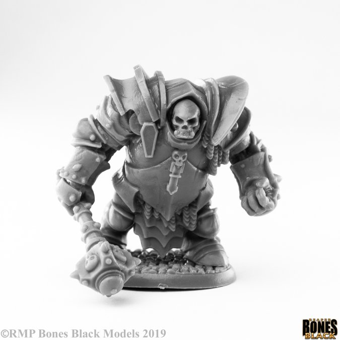 Bones Black: Maggotcrown Ogre Juggernaut
