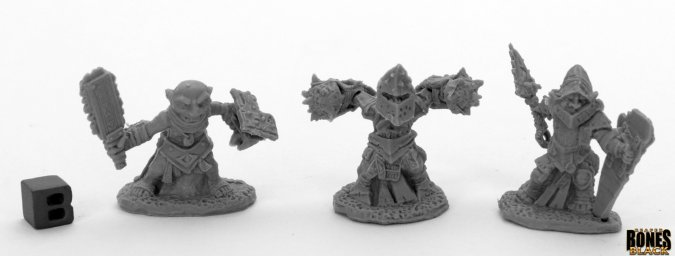 Bloodstone Gnome Warriors (3)