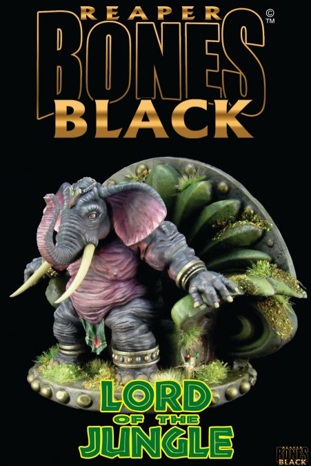 Lord of the Jungle - Bones Black Deluxe Boxed Set