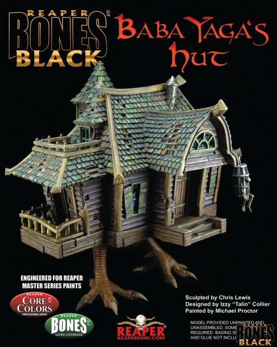 Baba Yaga's Hut - Bones Black Deluxe Boxed Set