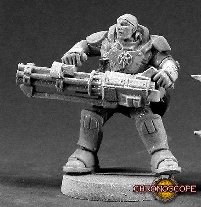 Reggie Van Zandt, IMEF Heavy Gunner